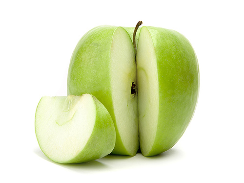 green-apple-sliced