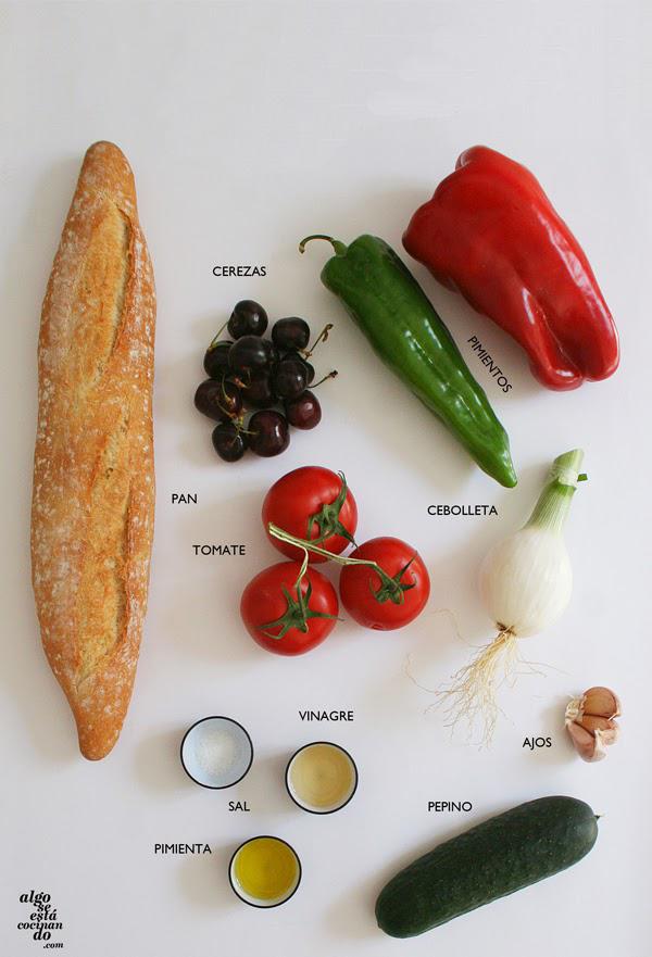 Ingredientes-gazpacho-cerezas