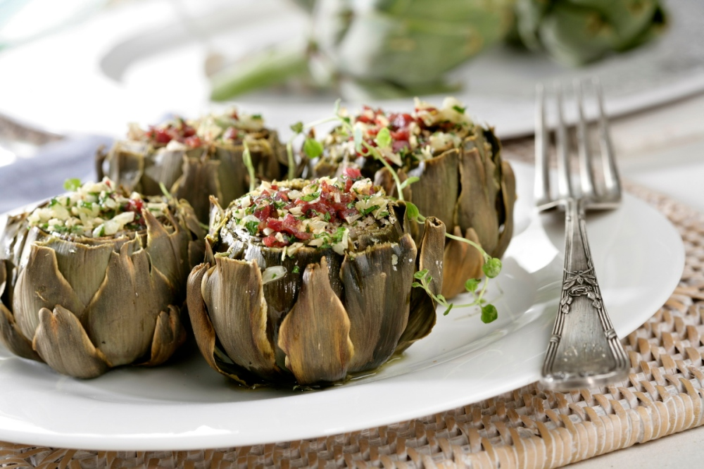 artichoke;vegetables;vegetables;baked;baked;baked;dishes